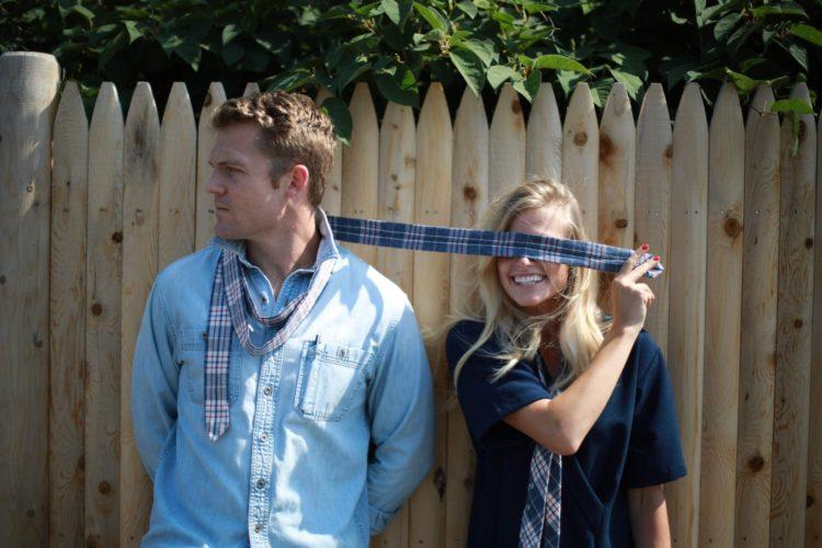 Ty-Amo Couple with Ties