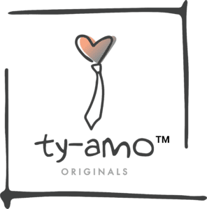 Ty-Amo Gender Neutral Ties logo