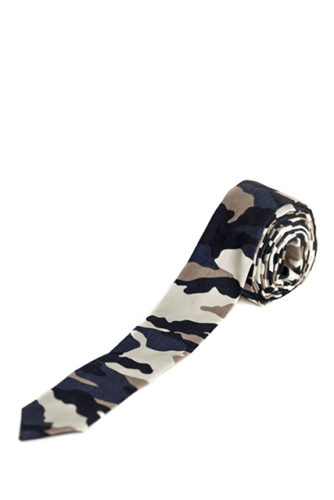Ty-Amo Gender Inclusive Camo Wrap Tie