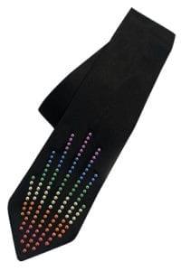 WORLD PRIDE Black Classic Tie